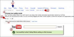 enable lock youtube safety mode 300x152 How to Enable and Lock YouTube Safety Mode
